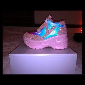 YRU funky platform sneakers